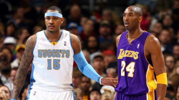 """Carmelo Anthony Reveals How He Became Friends With Kobe Bryant: """"Just Pushing My Buttons To See If I Was Going To Stand That"""""""