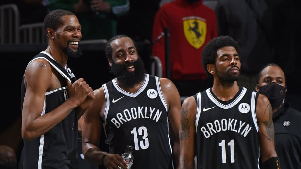 Kevin Durant, Kyrie Irving, And James Harden Will Combine For $541M If They Sign An Extension This Offseason