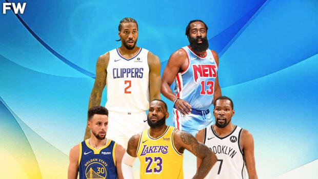 LeBron James, Kevin Durant, Stephen Curry, James Harden, And Kawhi Leonard Ranked Per Playoff Stats In Their Prime; KD Leads The Group In PPG
