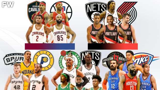 The Top 10 Most Lopsided Trades From The Last Decade: The Failed Nets Superteam, The Clippers Missing Out On Kyrie Irving