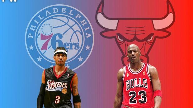 "Max Kellerman Believes ""Michael Jordan's The GOAT Because Allen Iverson Wasn't 6'6"""