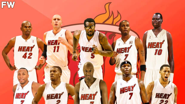 10 Players You Didn't Know Played For The Miami Heat: Penny Hardaway, Danny Granger Retired In A Heat Jersey