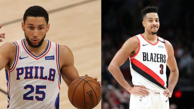 """Sam Mitchell On A Potential Trade Between 76ers And Trail Blazers: """"If You Can Get CJ McCollum For Ben Simmons, I'd Do That In A Heart Beat"""""""