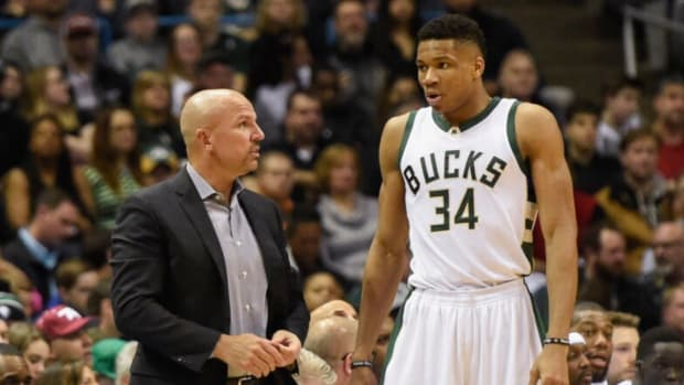 """Jason Kidd Denies He Has Beef With Giannis Antetokounmpo: """"My Relationship With Giannis Goes Beyond Basketball, I Talked To Him a Couple Of Hours After His Son Was Born"""""""