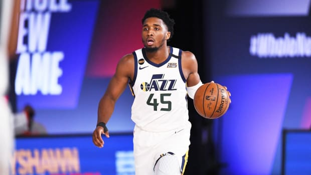 Donovan Mitchell Channels His Inner Steph Curry In Crazy Offseason Workout Video