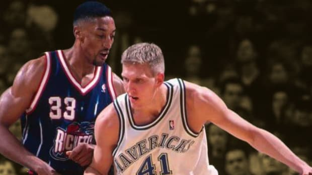 """19-Year-Old Dirk Nowitzki After Playing Against Scottie Pippen In An Exhibition: """"Arrogant A** Beyond Belief"""""""