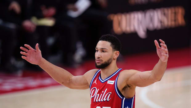 """Chris Broussard On Ben Simmons- """"It's Almost Like A James Harden Situation In Houston Last Year..."""""""