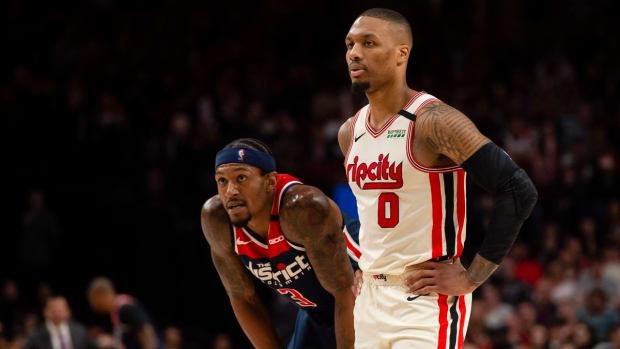 NBA Trade Rumors- League Executives Are Still Eyeing Damian Lillard And Bradley Beal