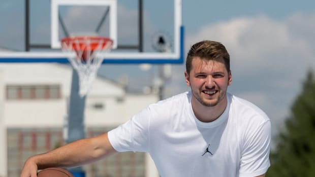luka Doncic courts