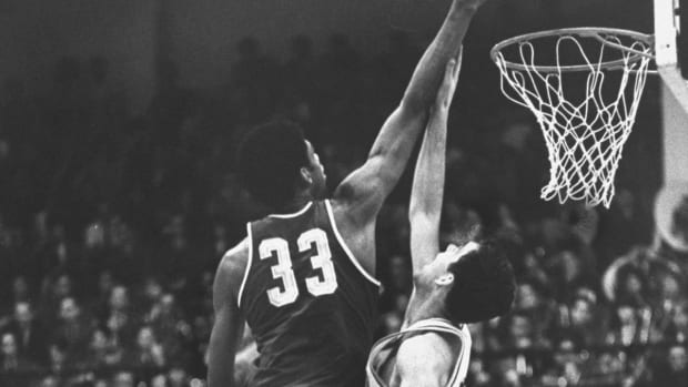 Kareem Abdul-Jabbar Developed His Signature Sky Hook After The NCAA Banned Dunking In Games Because Of Him
