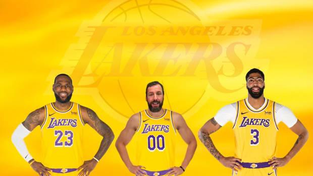 Adam Sandler Jokingly Shares Tweet Telling Los Angeles Lakers To Sign Him
