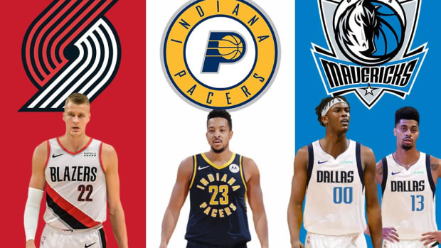 NBA Rumors: Mavericks, Trail Blazers, And Pacers Could Execute A Three-Team Trade Featuring CJ McCollum, Kristaps Porzingis, And Myles Turner