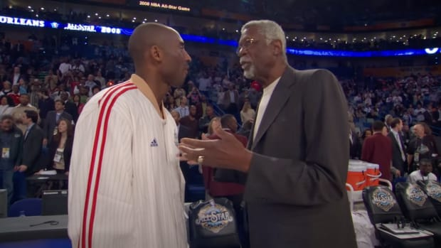 Bill Russell And Kobe Bryant Shared A Heartwarming Moment At 2008 All-Star Game: I Couldn't Be Prouder Of You If You Were My Own Son