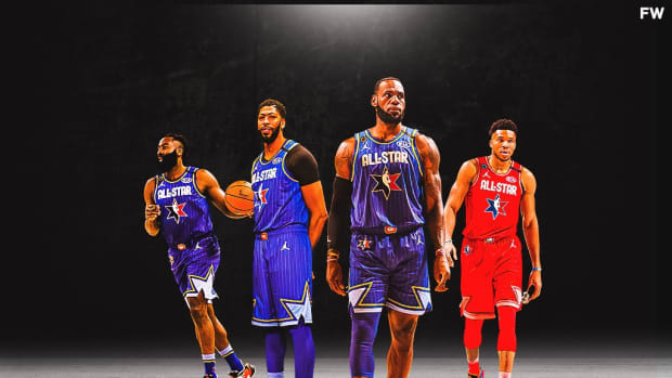 LeBron James, Giannis Antetokounmpo, Anthony Davis, And James Harden Are The Only Players Who Have Been Consecutive All-Stars The Last Five Years