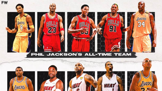 Phil Jackson's All-Time Team Vs. Pat Riley's All-Time Team: The Duel Of Two Legendary Coaches