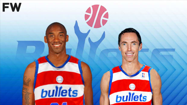 The Washington Bullets Missed The Chance To Draft Kobe Bryant And Steve Nash After Trading For Chris Webber