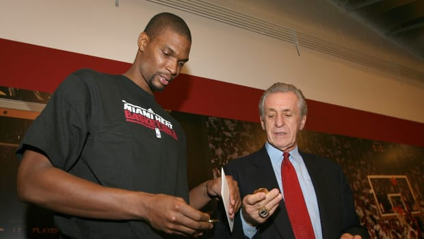 """Pat Riley Ready To Settle Differences With Chris Bosh: """"That's Not How I'm Going To End My Career, My Life"""""""