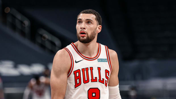 NBA Rumors: Analyst Suggests Zach LaVine Is A Potential Target For The Celtics In Case Bradley Beal Stays With The Wizards