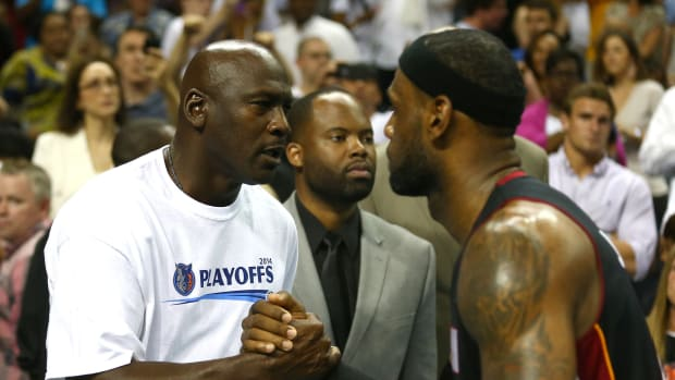 """Michael Jordan On LeBron James Playing In His Era: """"Could LeBron be successful in our era? Yes. Would he be as successful? No"""""""