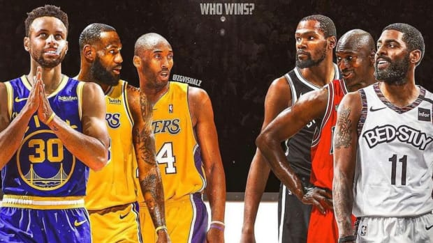 NBA Fans Debate Who Would Win In A 3 Vs. 3 Match: 'MJ, KD And Kyrie Are Better Than LeBron, Kobe And Curry'