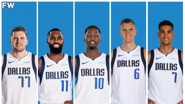 The Dallas Mavericks Potential Starting Lineup: Luka Doncic And Kristaps Porzingis Have To Prove It Can Work