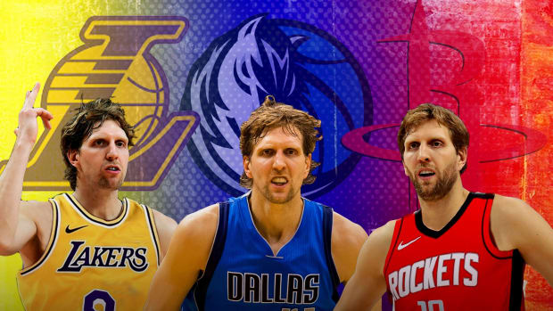 Dirk Nowitzki Rejected $92 Million Deals From The Lakers And The Rockets And Signed A 3-Year, $25 Million Deal To Stay With The Mavericks