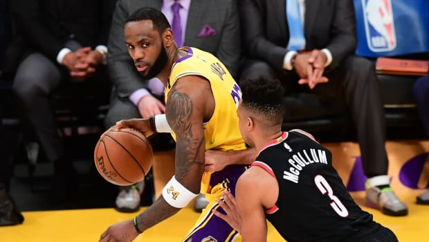 """CJ McCollum Comments On Lakers Offseason Moves: """"I Think They'll Be A Solid Team..."""""""