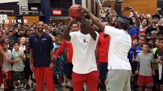 Chris Paul Made A Bet That If Michael Jordan Missed One Shot Then The Entire Camp Would Get Free Jordans