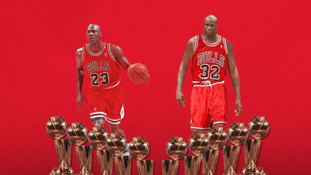 Skip Bayless Believes Michael Jordan And Shaquille O'Neal Would Easily Win 10 Championships As The Greatest Duo Ever