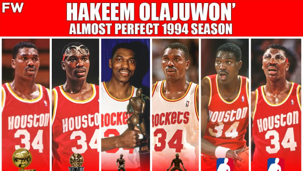 Hakeem Olajuwon' Almost Perfect Season In 1994: Missed Scoring Award By 2.5 Points