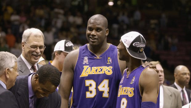 """Shaquille O'Neal On Playing The Nets In 2002 Finals: """"It Was Boring."""""""