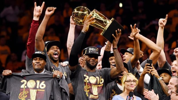 """Andre Iguodala On The Cavaliers' Epic 3-1 Comeback In 2016 Finals: """"There Were Some External Factors..."""""""