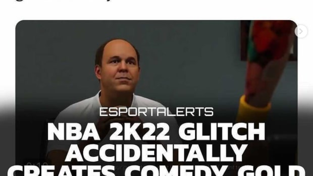 Hilarious 2K22 Glitch Goes Viral Online