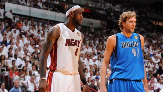 """""""Never Forget Dirk Completely Ignoring LeBron In His Last All-Star Game,"""" NBA Fans Can't Forget The Beef Between Them"""