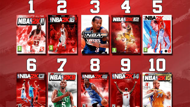 Ranking The Best And Worst NBA 2K Games Ever
