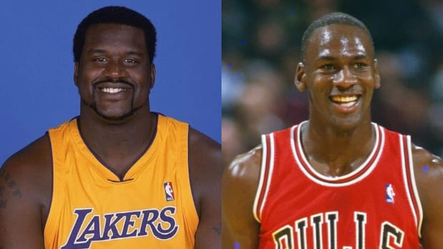 """NBA Players Before They Went Bald: """"Why Shaq Lookin' Like Darryl From The Office?"""""""