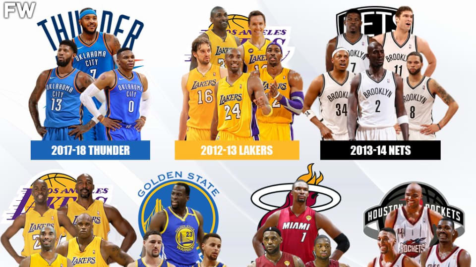 10 Most Disappointing NBA Superteams Of All Time: '73-9 Don't Mean A Thing Without A Ring'