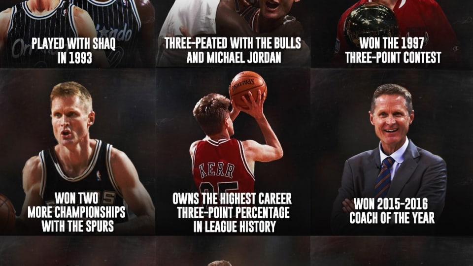 The Most Underrated Career In NBA History: Steve Kerr Has 8 Championships, Played For The Three-Peat Bulls, And Coached The Warriors Dynasty