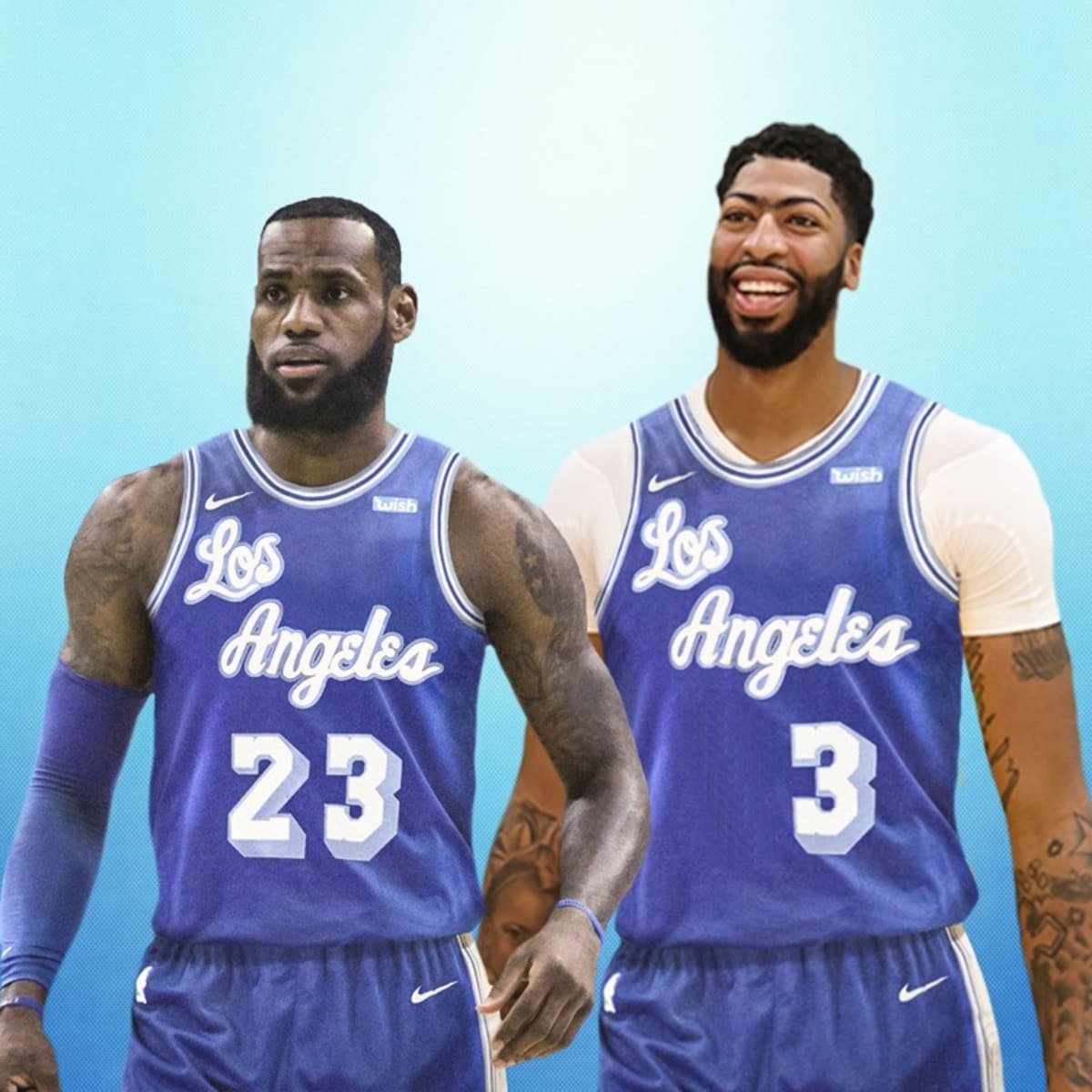 Los Angeles Lakers Will Use Classic Blue Jersey For 2021 NBA ...