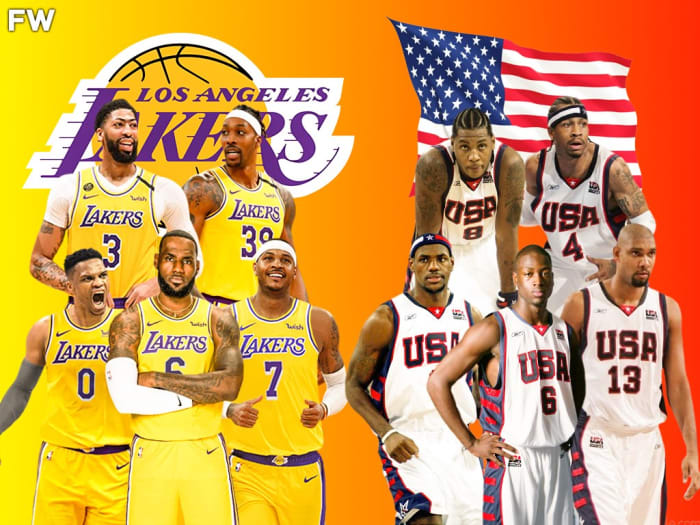 """Carmelo Anthony On If The Los Angeles Lakers Don't Win An NBA Championship This Season: """"It's Going To Be Like When Team USA Lost In 2004"""""""
