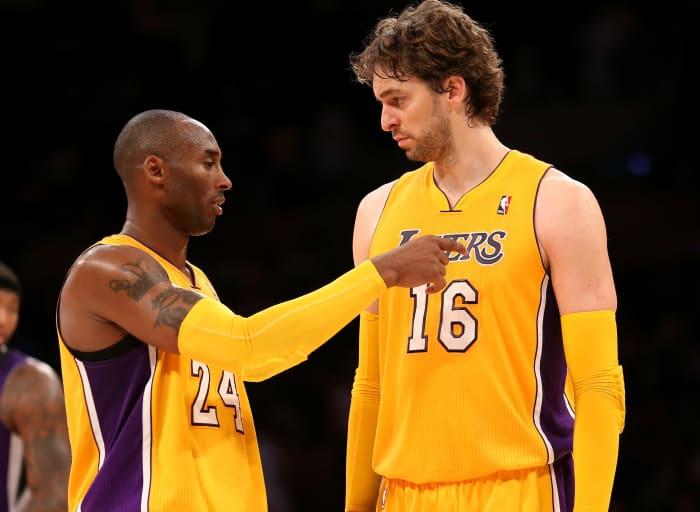 Pau Gasol Reveals How Kobe Bryant Motivated Him After 2008 Finals Loss