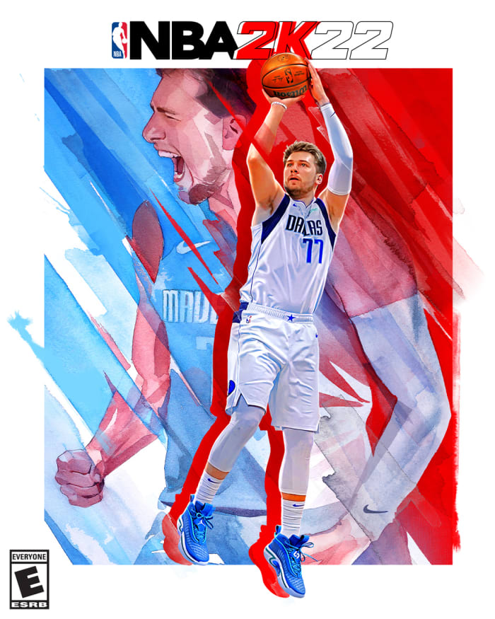 Luka Doncic Goes From 59 Overall In NBA 2K17 To Cover Athlete For NBA 2K22