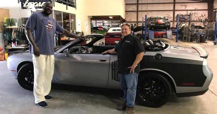 "Shaquille O'Neal Says His Dodge Demon ""Embarrassed Ferraris, Lamborghinis, Teslas"""