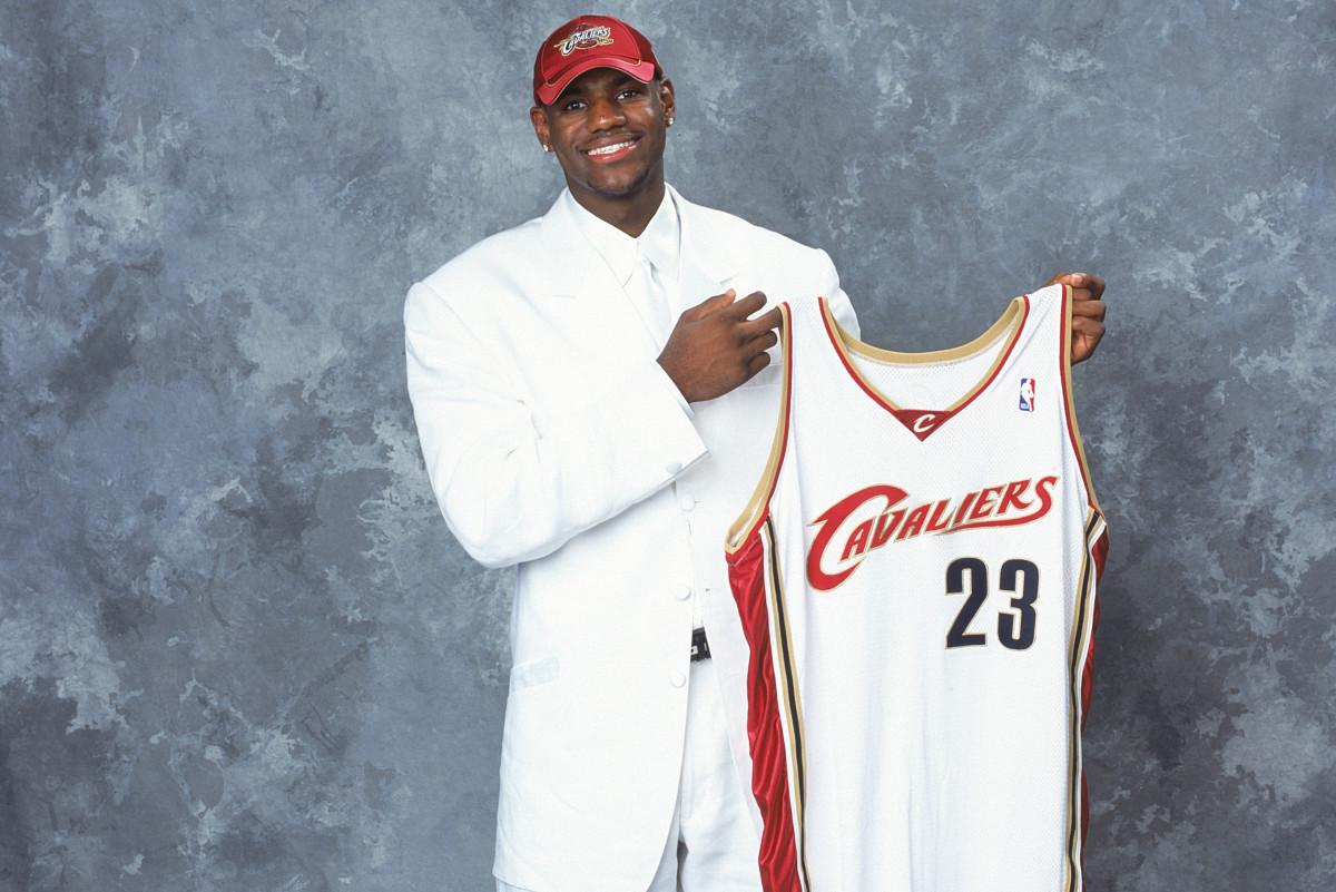 LeBron James - 2003 NBA Draft
