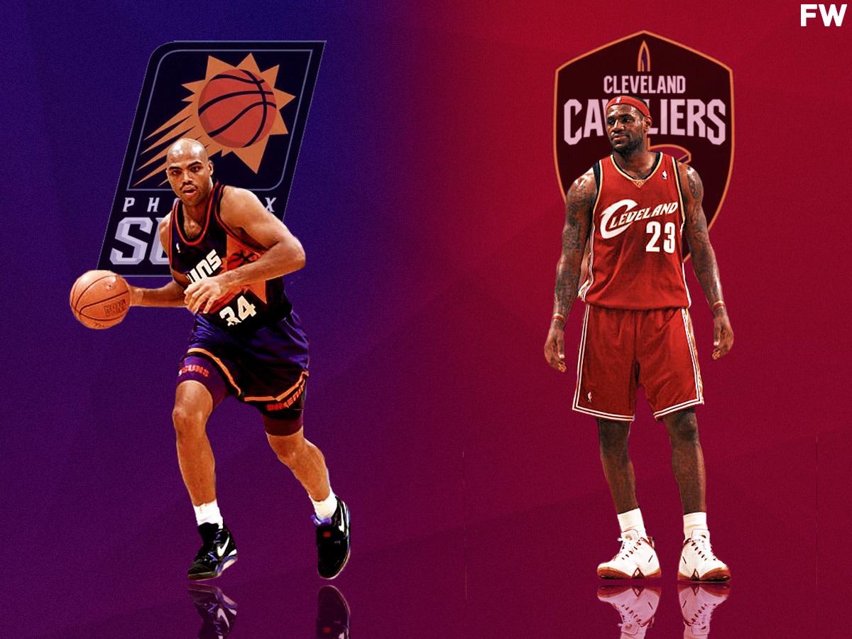 Charles Barkley vs. LeBron James