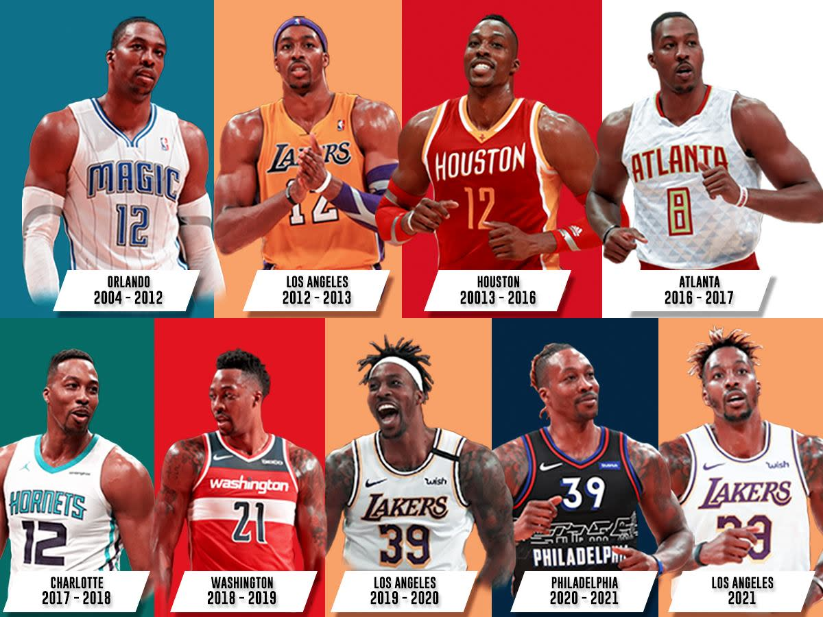 Breaking Down Dwight Howard's Career: 9 Teams, 1 NBA Championship, 3-Time Defensive Player Of The Year