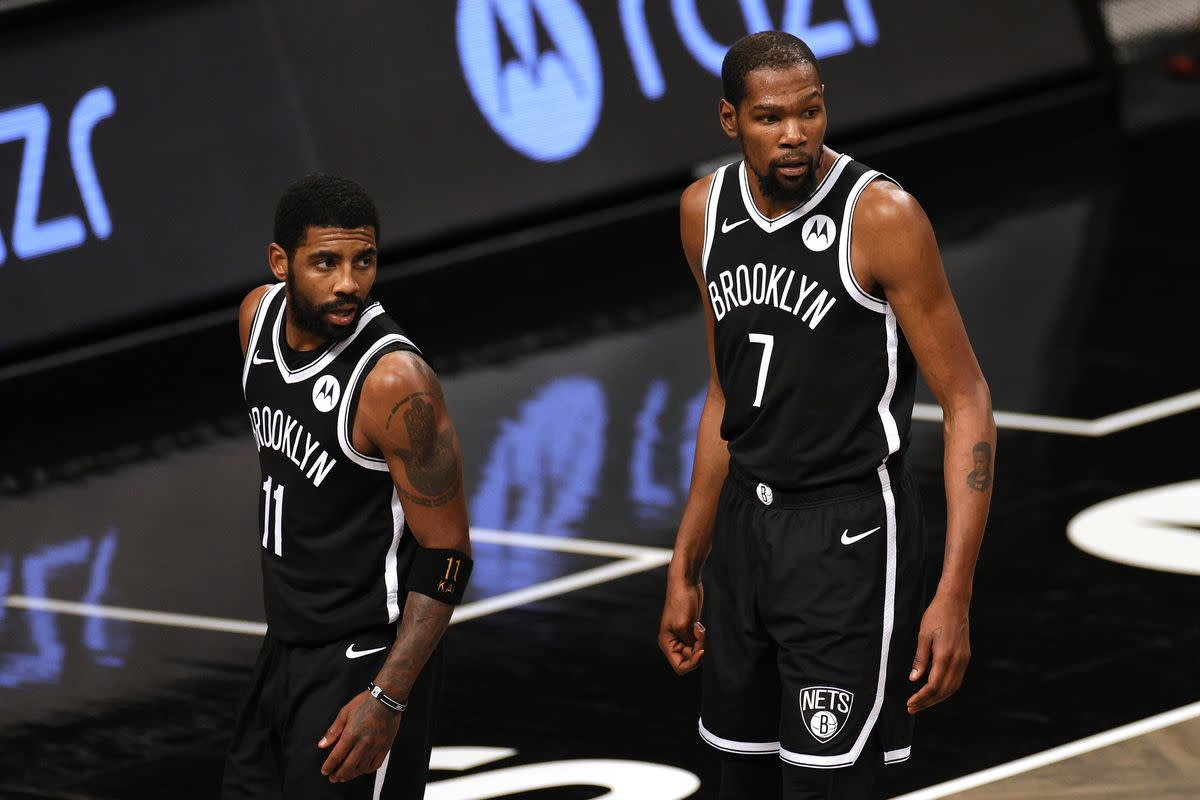 """Stephen A. Smith Drops Truth Bomb About Kyrie Irving: """"The Nets Were Never Enamored With Taking Him To Begin With. They Did It Because They Knew That's What Kevin Durant Wanted."""""""