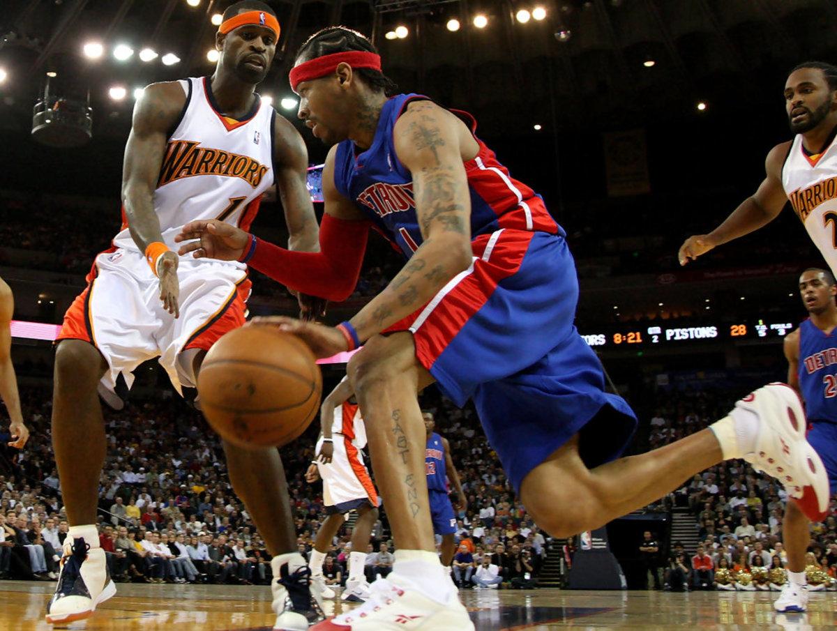 "Stephen Jackson Told Allen Iverson How Important He Is: ""You Mean A Lot To Us… We Can't Lose You. We Just Lost Kobe"""