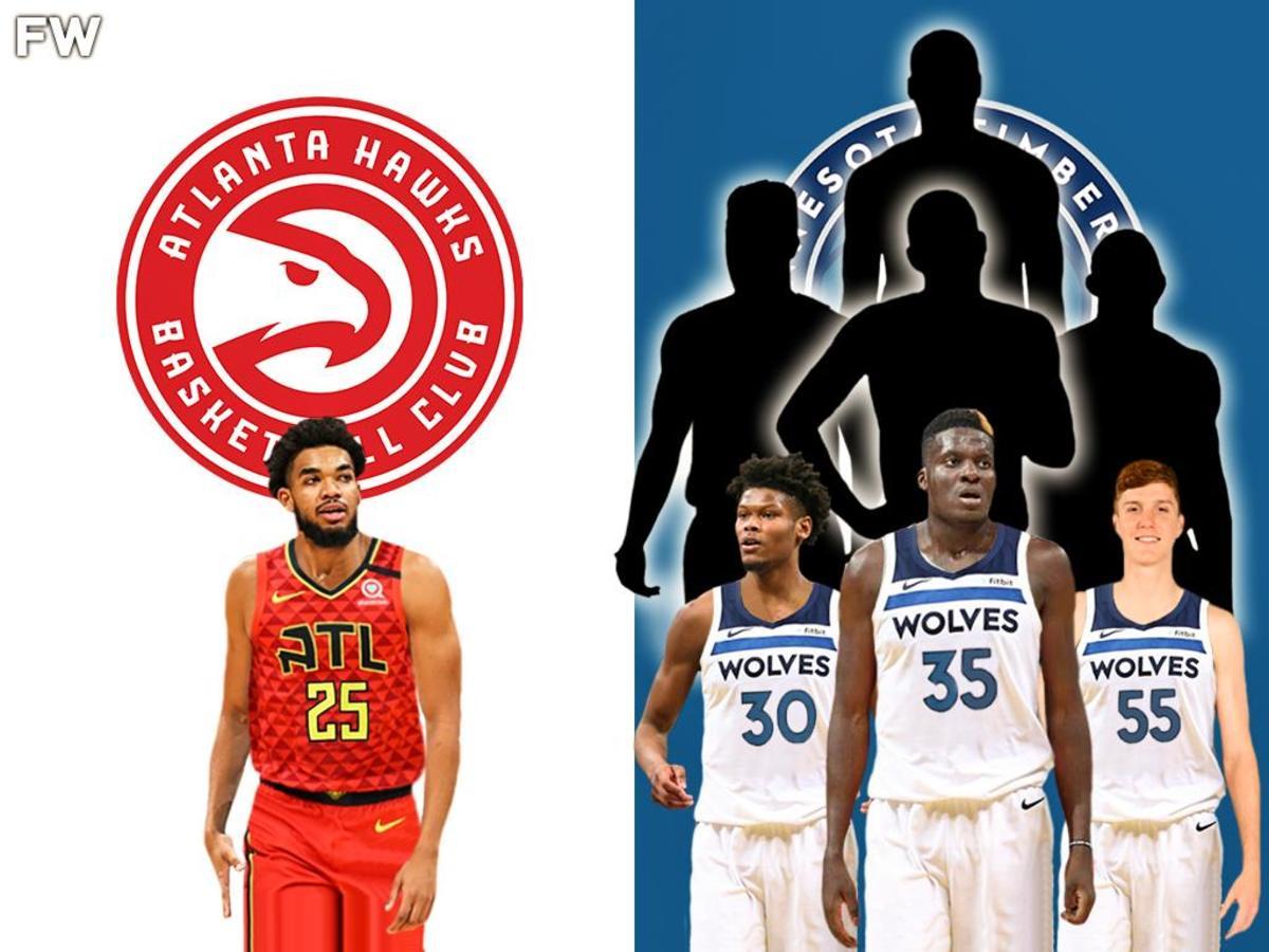 NBA Trade Rumors: Atlanta Hawks Could Land Karl-Anthony Towns For 3 Players And 4 Picks