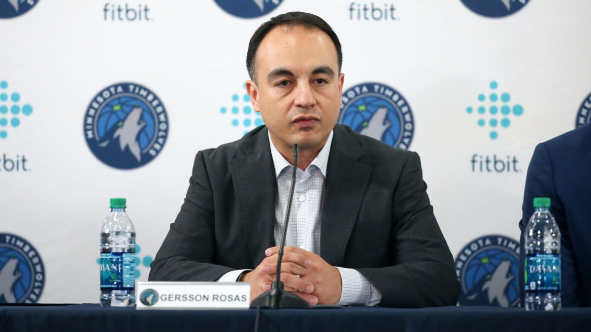 """Former Timberwolves President Gersson Rosas Reportedly Had An """"Inappropriate Relationship"""" Inside The Timberwolves' Organization"""